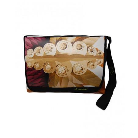 Recycled Medium Messenger Bag