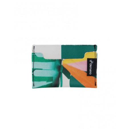 Eco Tarjetero Reciclado - 3 compartimientos para tarjetas - Ultra fino