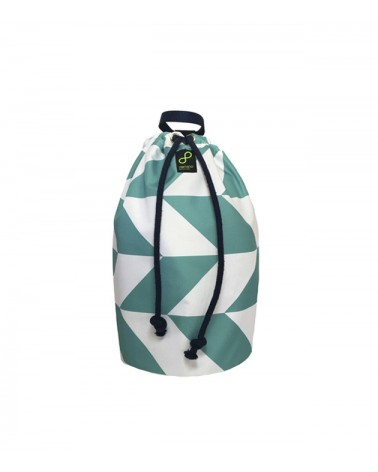Rajoles Mallorca - Recycled Sailor Drawstring Bag