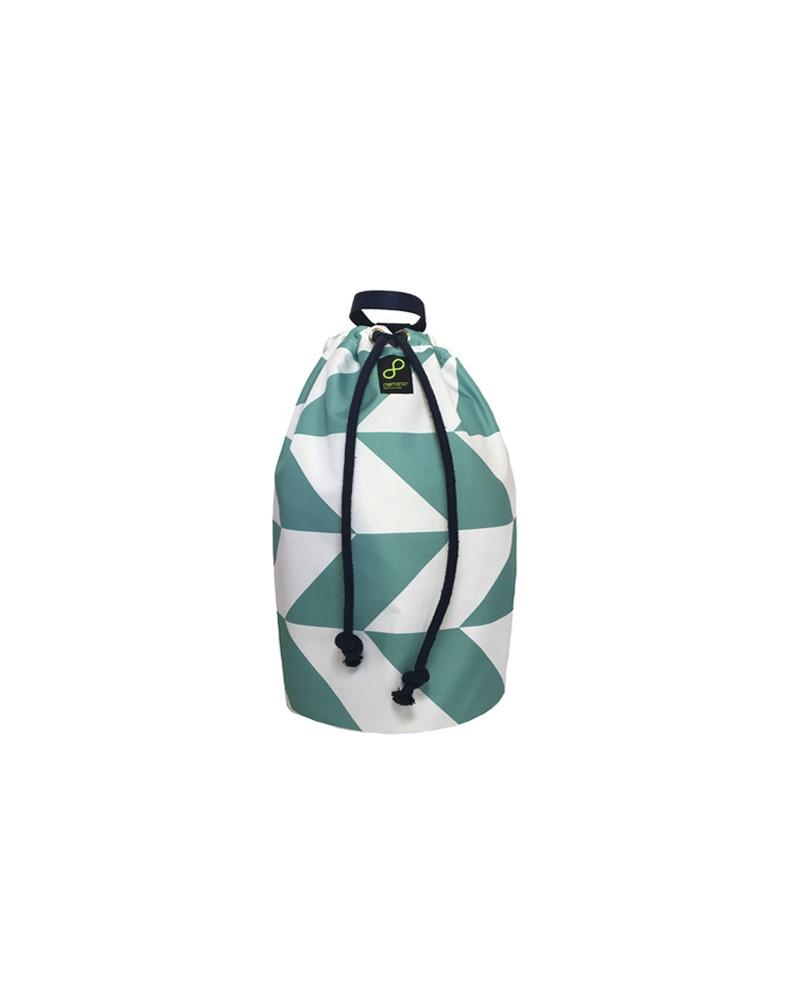 Rajoles Mallorca - Recycled Sailor Drawstring Bag