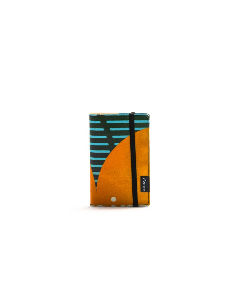 Eco Striped Notebook A5 - 100 Pages