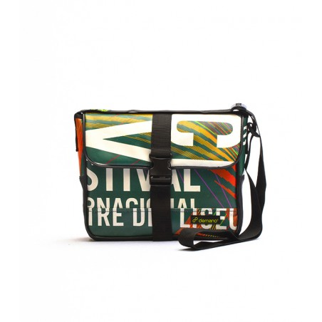 Recycled Messenger Bag