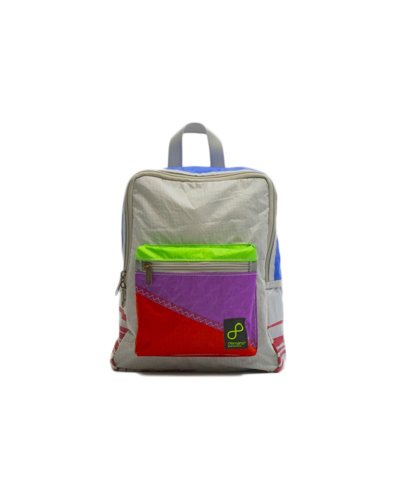 Eco Mochila Reciclada KiteSurf para Niños