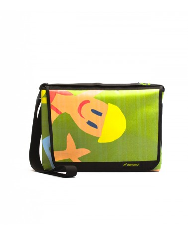 Recycled Large Messenger Bag