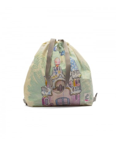 Recycled Drawstring Bag X Lapin