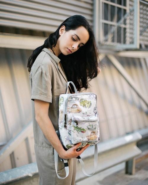 Lapin urban sketcher bolsas recicladas